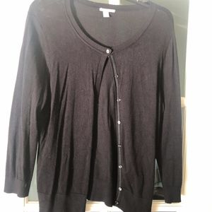 Halogen Black Cardigan